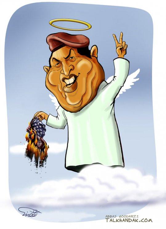 هگو چاوز,مرگ,پرچم,کاریکاتور,Cartoon,Hugo chavez