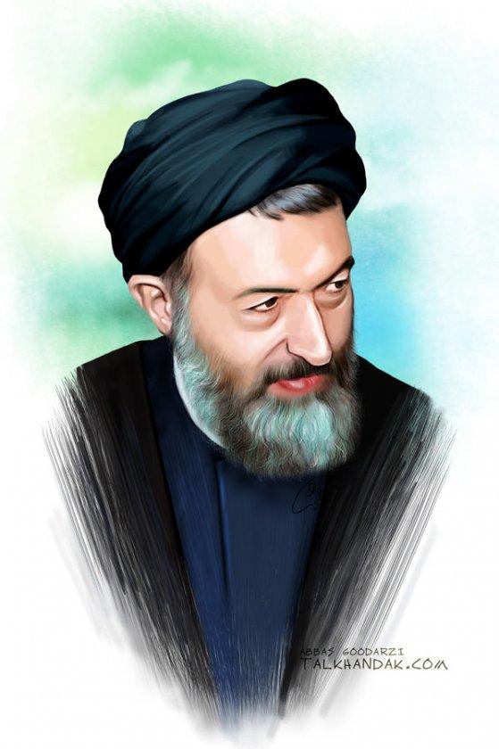 shahid-beheshti,شهید بهشتی,7تیر,ترور,دکتر بهشتی,بهشتی,نقاشی,عکس باکیفیت,دیجیتال پینت,عباس گودرزی
