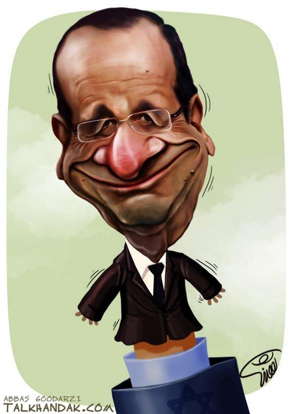 کاریکاتور,سیاسی,فرانسه,5+1,انرژی هسته ای,فرانسوا اولاند,اسرائیل,صهیونیسم,سیاست,چهره,دیجیتال پینت,دست,عروسکی,لبخند,کراوات,عباس گودرزی,کارتون,لعنتی,francois