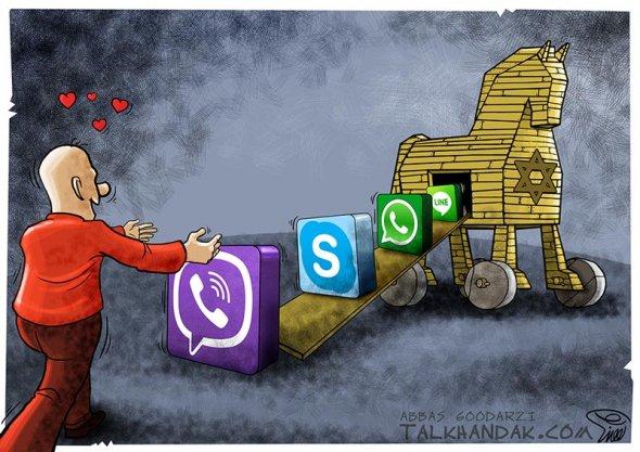 کاریکاتور 3G , 4G
