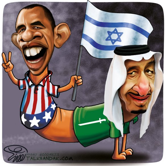 گربه سگ,عربستان,ملک سلمان,وهابی,اوباما,آمریکا,اسرائیل,صهیونیست,پادشاه,کاریکاتور,سیاسی,بین الملل,آنتی اسلام,پرچم,CatDog