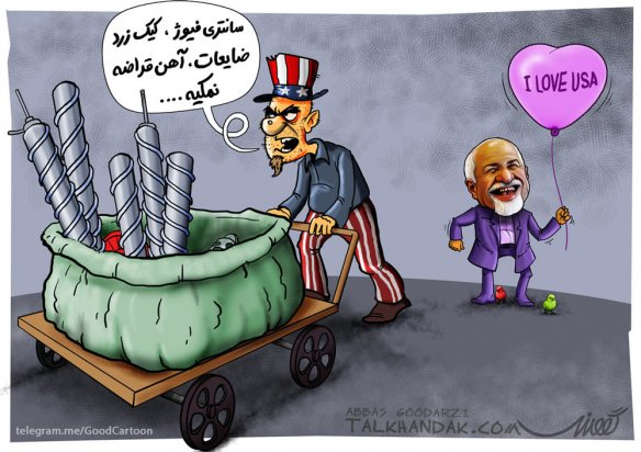 دیپلماسی,ظریف,وزارت خارجه,انرژی هسته ای,کاریکاتور,کارتون,طنز,سیاسی,سیاست,سانتریفیوژ,نمکی,ضایعات,بادکنک,جوجه,آمریکا,دولت,تدبیر,خیانت,خائن