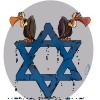 اسراییل,ستاره,ریزش,لاشخور,یهود,صهیون,صهیونیست,ریختن,آبی,زوال,کاریکاتور,مصر,ایران,گودرزی,هنر,art,cartoon,abbas,israeel,star
