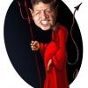 عبداله دوم,اردن,شیطان,کاریکاتور سفیانی,سفیانی,قرمز,پادشاه اردن,ملک,ملک عبدالله,خبیث,کاریکاتور شیطان,شیطون,اردن,abdullah-2