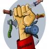 بحرین,شیعیان,کاریکاتور بحرین,عربستان,آمریکا,اسرائیل,سازمان ملل,چاقو,تبر,سیاسی,گلوله,کارد,خون,انقلاب,کاریکاتور انقلابی,جوان,جوانان,انگشتر,شیعه ها,خیزش اسلامی,خیانت,مسلم,مسلمان,بحرینی,bahrain