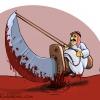 Bahrain,cartoon,al khalifa,War crimes,ثورة البحرين,جرائم,آل سعود,عاهة,کاریکاتیر,عباس,گودرزی,کاریکاتور,abbas,goodarzi,خون,عرب,مسلمان