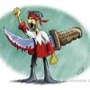 کاریکاتور,شعار,فریاد,هاشور,ثورة,البحرین,سربند,چاقو,پشت,بحرین,بحرینی,انقلاب,مردم,قرمز,خیانت,bahrein