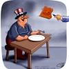مصر,اسرائیل,آمریکا,کباب,کاریکاتور,میز,سیاسی,cartoon