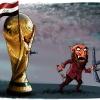 کاریکاتور,داعش,دانلود کاریکاتور,عکس کاریکاتور,دانلود پوستر,عراق,جام جهانی,خشونت,کاپ,فوتبال,مسابقات,پرچم,چاقو