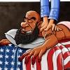 کاریکاتور,داعش,آمریکا,سیاسی,اسرائیل,ماساژ,ابوبکر بغدادی,daesh