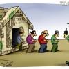 dollar,دزد,دلار,بازار,گرانی,فروش,خرید,قیمت,سکه,طلا,قانون,نیروی انتظامی,کاریکاتور,عباس گودرزی