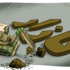 dollar cartoon