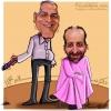 کاریکاتور سرافراز رئیس صدا و سیما