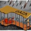 کاریکاتور,غزه,کودک,قتل,قتلگاه,مقتل,زندان,بچه,دختر,نوزاد,Gaza,موشک,گلوله,کشتار,کشتن,عباس گودرزی,عکس کاریکاتور,اسرائیل