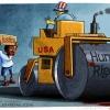 کاریکاتور,عکس کاریکاتور,دانلود کاریکاتور,حقوق بشر,سیاهپوست,فرگوسن,عدالت,آمریکا,سیاسی,human