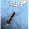 حمله ناو نظامی آمریکا به هواپیمای مسافری ایران