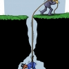 آمریکا,اسراییل,اسرائیل,طناب,چاه,انزوا,کاریکاتور,سوراخ,سیاه,چاله,گودرزی,عباس,تلخندک,لبنان,ایران,اوباما,باراک,ایهود,زور,تلاش,قدرت,سید حسن,نصرالله,احمدی نژاد,سیاسی,رژیم,اشغالگر,بستن,cartoon,usa,israel