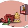 سینما,خانه,کاریکاتور,بی بی سی,فیلم,خائن,سرسنگی,تلویزیون,سجده,خیانت,khaneye,sinama