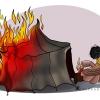 libi,GADDAFI CARTOON,LIBIA,MOAMAR CARTOON,FIRE CARTOON,FIRE,CARTOON,abbas,  abbas good,  ghddaf,  goodarzi,  goudarzi,  libi,  moamar, Մուլտֆիլմ-Ծաղրանկար-Spotprent-Politico Cartoni-الكاريكاتير السياسي-Քաղաքական մուլտեր -Siyasi Çizgi-Politiko Cartoons-Палітычны дэтэктыў-Политически карикатури-Polítics Vinyetes-政治漫画-政治漫畫-Politički Crt,  رییس لیبی,  عباس,  عباس گودرزی,  قذافی,  قیام,  قیام لیبی,  لیبی,  مبارز هنری,  معمر,  معمر القذافی,  معمر قذافی,  هنر,  هنر سیاسی,  هنر مبارزه,  هنر کاریکاتور,  چادر نشین,  چوپان,  چوپان لیبی,  چوپون,  کاریکاتور قذافی,کاریکاتور های عباس گودرزی,کاریکاتور های گودرزی,گودرزی,LIBYA CARTOON,آتش,آتش سوزی,چادر,خیمه,عشایر,چوپون,کاریکاتور چادر,کاریکاتور آتش سوزی