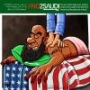 کاریکاتور نه به آل سعود