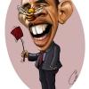 متعهد.هنر.تلخندک.نقاشی.مزاحم.مگس.زنبور.سیاسی.گودرزی.عباس.اوباما.اقتصاد.طنز.کارتون.رییس جمهور.کاریکاتور.آمریکا.وال استریت.obama