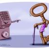 کاریکاتور,روحانی,کلید,بنفش,دولت,یازدهم,مشکل,طنز,سیاسی,سیاست