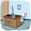 کاریکاتور,سازمان ملل,میز,توالت,توالت فرنگی,سیاسی,سیاست,پرچم,سوریه,مصر