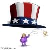 کلاه,گشاد,دولت,توافق,هسته ای,کلید,حسن روحانی,ظریف,آمریکا,سیاسی,سیاست,بنفش,کاریکاتور,عباس گودرزی,طنز