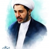 نقاشی چهره,تصویر سازی,شیخ علی سلمان,بحرین,روحانی,شیعه,دیجیتال پینت,sheykh-ali-salman